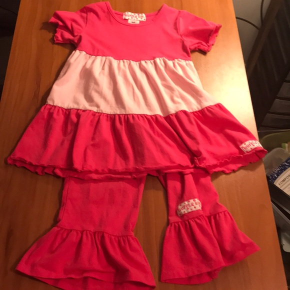 ed84a83f2 Ruffle Girl Matching Sets